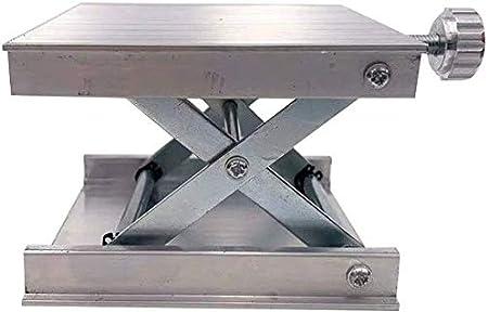 Labo Support Table Aluminium Alliage Levage Table Reglable Labo