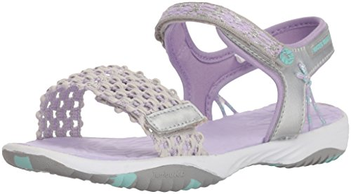 Jambu Girls'  Mohi Outdoor Sport Sandal, Silver, 2 M US Little Kid
