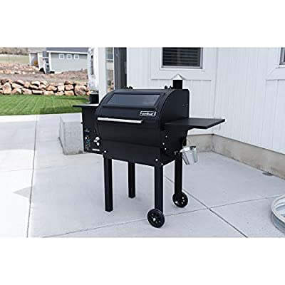 Camp Chef PG24MG Magnum Outdoor Pellet Smoker Combination Grill, 24 Black