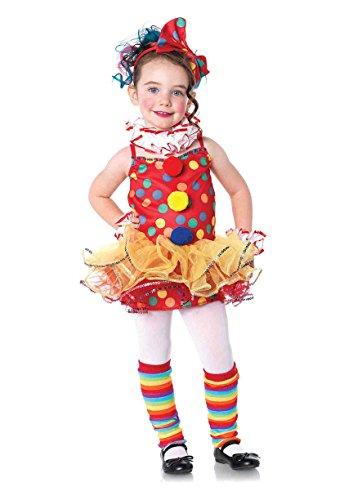 Leg Avenue Children's Circus Clown Costume -