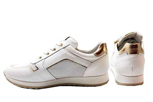 Gold Schuhe Weiß Turnschuhe Giardini Damenschuhe Nero und P830020F Junior 4qxtXnw8H