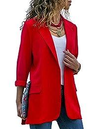 NANYUAYA Women's Open Front Cardigans Sweaters Long Sleeve Knit Coat Tops Outwear