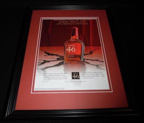 2015-makers-mark-46-bourbon-framed-11x14-original-advertisement-b