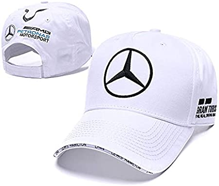 Pink Funsport New Baseball Cap Hat with Car Emblem Unisex for Mercedes-Benz Accessories