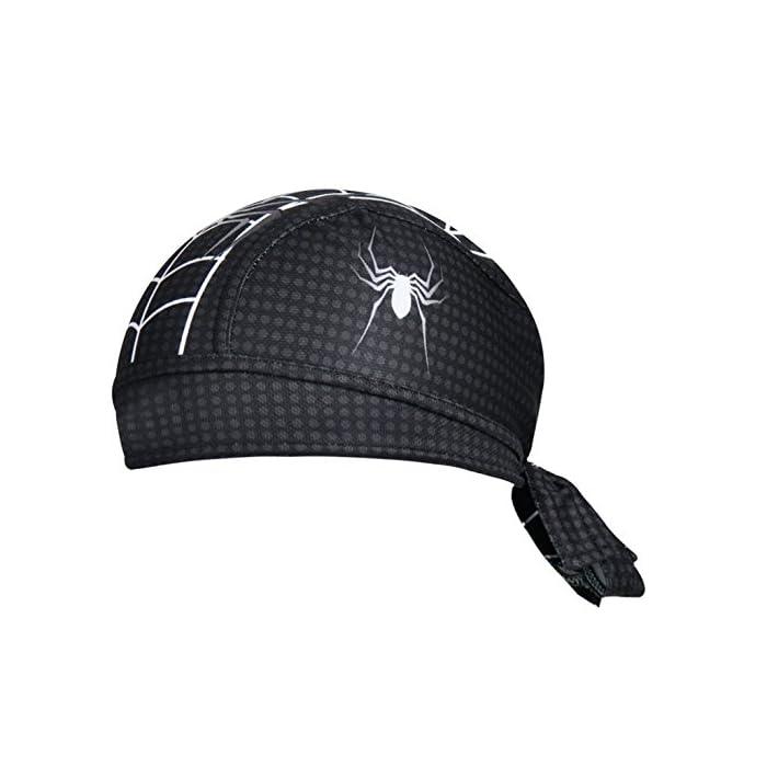 ShopINess – Gorro Bandana Ciclismo Spiderman Negro