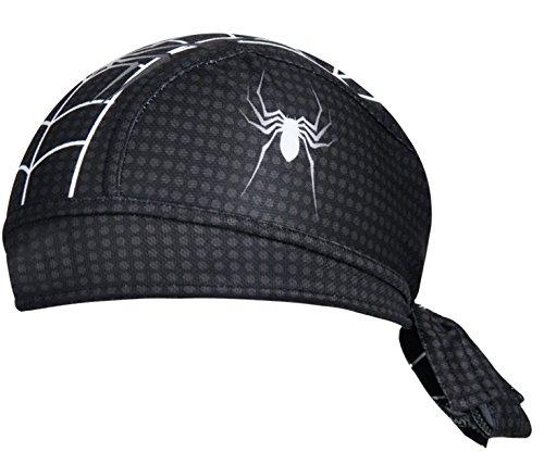 ShopINess - Gorro Bandana Ciclismo Spiderman Negro: Amazon.es: Deportes y aire libre