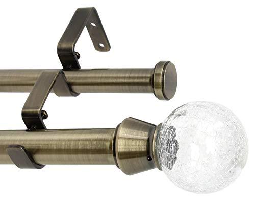 - Urbanest Crackle Glass Flat Button 1