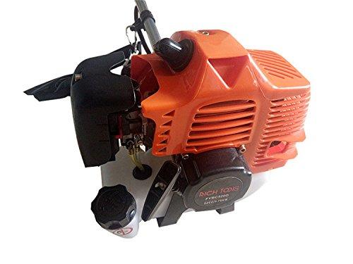 Desbrozadora de gasolina 52cc (potencia del motor 2,2 Kw) con ...