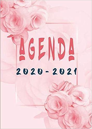 Agenda 2020 2021: A4 Agenda organizer +2020 e 2021 calendario