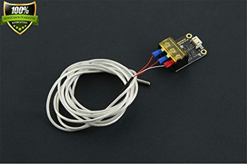 Analog Temperature Sensors - DFROBOT Gravity: Analog High Temperature Sensor Probe Measurable Temperature:-20-400??C The Highest Acclimation Temperature Of The Outer Skin: 200??C