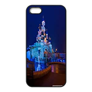 Iphone 5/5S Case the castle of the beauty sleeping in the wood Black tcj525931 tomchasejerry