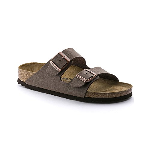 Birkenstock Arizona Mocha Birkibuc Sandal 38 N (US Women's - Arizona Mill