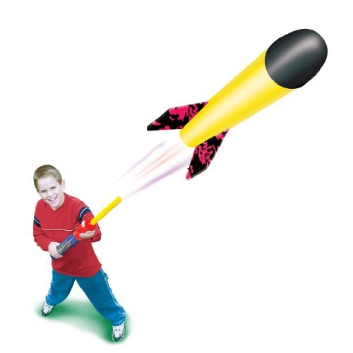 Geospace MINI Pump Rocket Set - Launcher & Foam Flying Rocket ()
