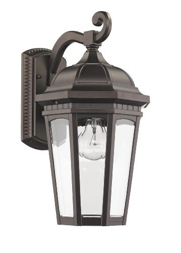 Leaded Glass Outdoor Lighting in US - 9