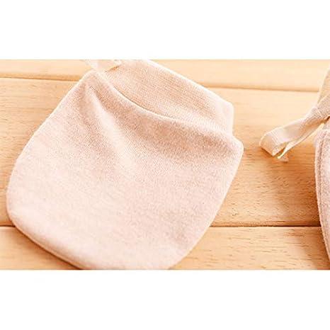 10 * 7cm Blue Billty Baby AntiGraffio Guanti Autunno Inverno Ragazze dei Neonati Caldo Cotone Mittenswith Regolabile con Coulisse per 0/ Cotone /6/Mesi