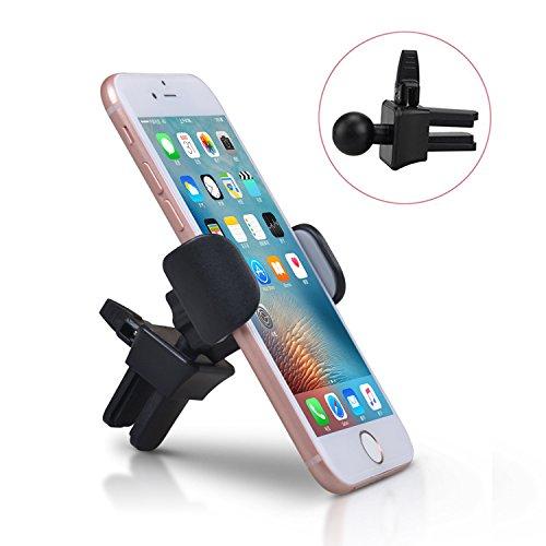 iVoler Supporto Auto Smartphone con Clip,Supporto Magnetico Auto Universale Premium Air Vent Magnetic 360 Gradi di Rotazione per iPhone X / 8 / 8 Plus / 7 / 7 Plus / 6(s) / 6(s) Plus / SE / 5s / 5, Sa