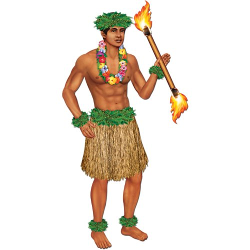 Jointed Polynesian Dancer Party Accessory
