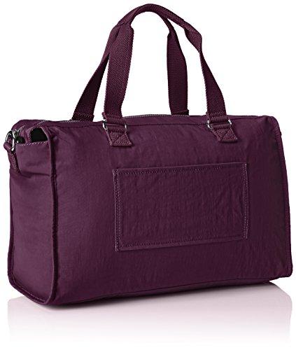 Taglia De Viola Purple Centimeters 40 20 Viaggio plum Tote Liters Kipling Donna Purple Pauline Unica vx4wS1Eq