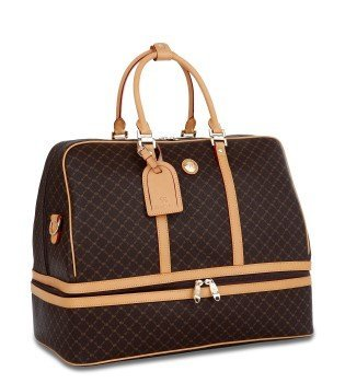 b3544cb9ac0d Image Unavailable. Image not available for. Color  Signature Duffle Dome  Traveler by Rioni Designer Handbags   Luggage