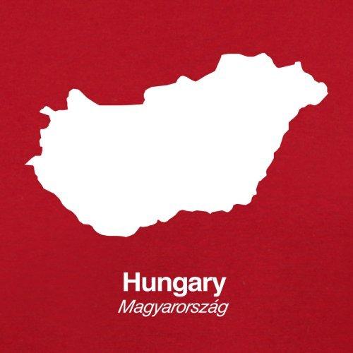 Bag Retro Flight Red Hungary Red Silhouette Hungary Silhouette FpwXz