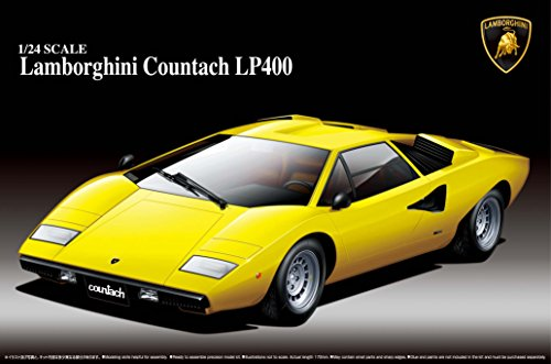 Aoshima Lamborghini Countach LP400 Model Kit for sale  Delivered anywhere in USA