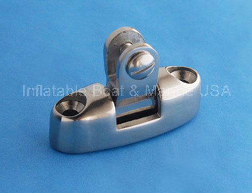 Inflatable Boat & Marine USA Bimini Top Swivel Deck Hinge - Fittings/Hardware 316 Marine Stainless Steel - Pack of 2 Each