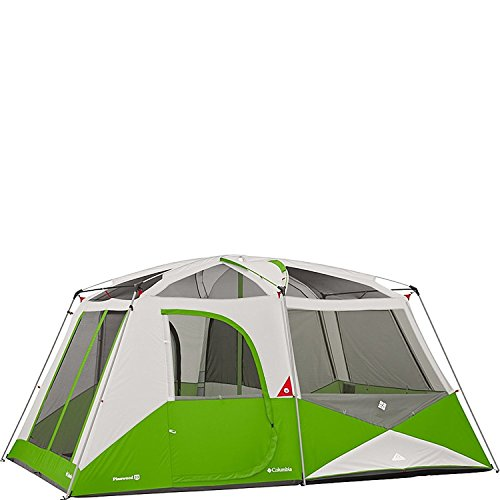 Columbia Sportswear Pinewood 10 Person Cabin Tent (Fuse Green) (Columbia Tent)