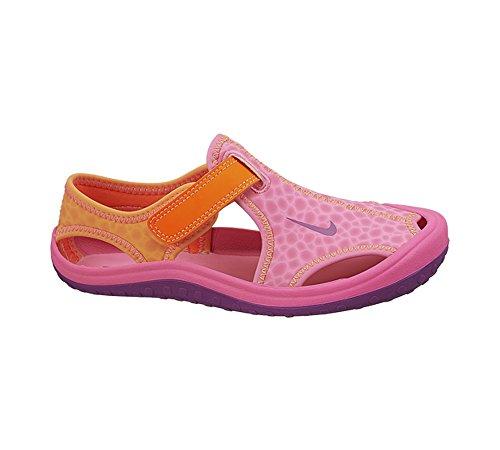Nike Mädchen Sunray Protect (Td) Lauflernschuhe Pink Pow/Total Orange//Bold Berry