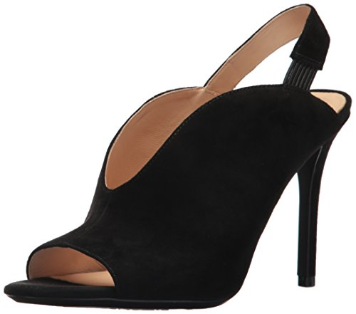Image of Nine West Women's MOORE9X9 Suede Heeled Sandal