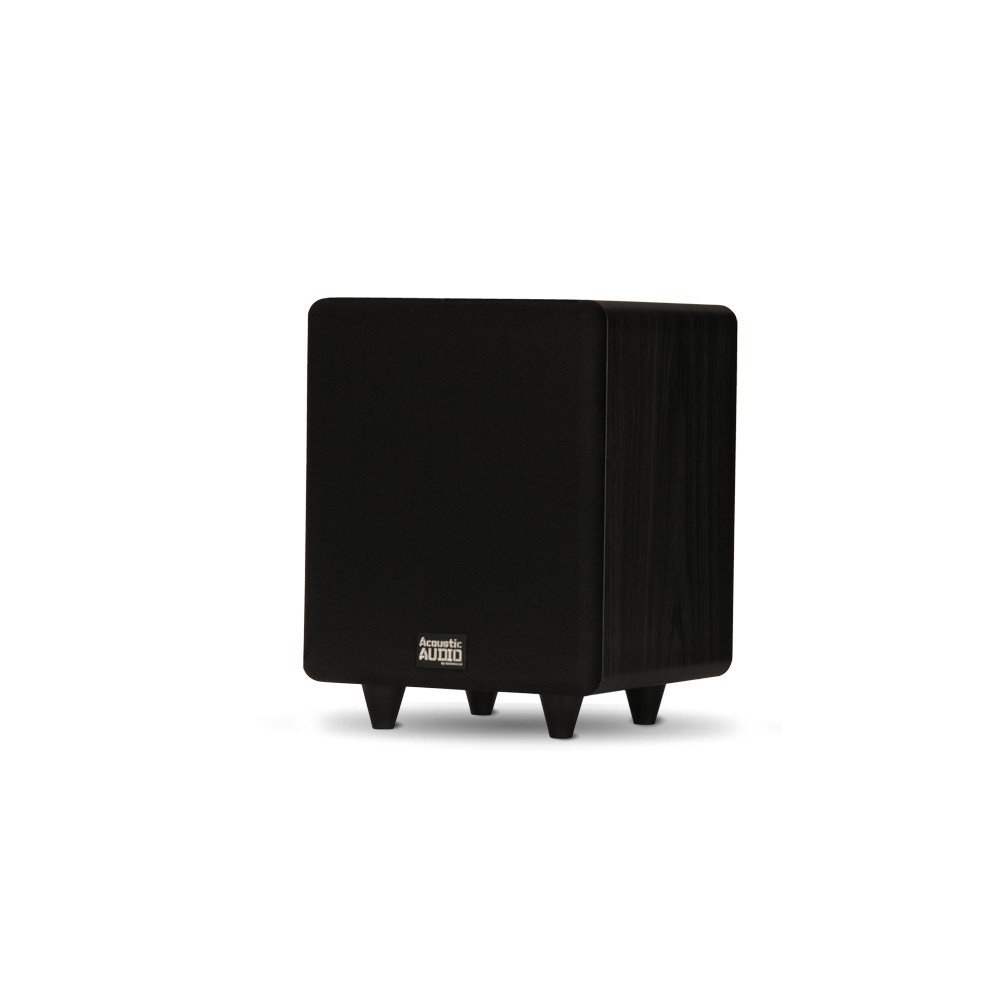 Acoustic Audio by Goldwood 6 Inches 250 Watts Lfe Subwoofer Black (PSW250-6) by Acoustic Audio by Goldwood