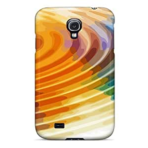 Galaxy S4 Cases Covers - Slim Fit Tpu Protector Shock Absorbent Cases (color Wheel 3d)