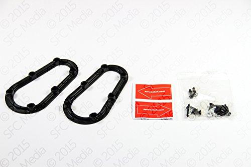 AeroCatch Molded Fixing Nut Plates - 2 Piece Kit for Plus Flush Series - Part # 120-8500