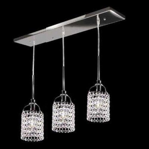 LightInTheBox Mini Alfa Strass Crystal Pendant Restaurant, Modern Home Ceiling Light Fixture Flush Mount, Pendant Light Chandeliers Lighting, - Strass Chandelier Crystal Lamp