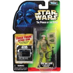 - Star Wars: Power of The Force Freeze Frame Endor Rebel Soldier Action Figure
