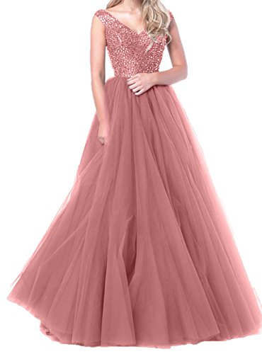 Charmant Abiballkleider Abendkleider Rosa Bodenlang Prinzess Kleider Damen Lang A Linie Rosa Rock Wunderschoen Jugendweihe xrqwHtYrS