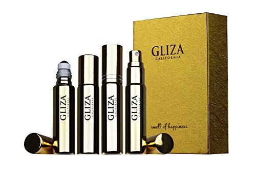 (OUDY ROSE by Gliza Niche Perfume Better Than Cologne EDT Challenge to Jo Malone Velvet Rose and Oud For Women Travel Size (0.3 fl oz) Roll on + Perfume Spray)