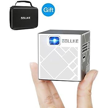 Amazon Com Icodis Cb 100w Mobile Projector Dlp Pico Home
