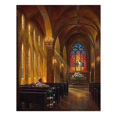 Sanctuary of Peace 1000 pc Jigsaw Puzzle by SUNSOUT INC: Toys & Games