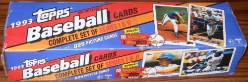 1993 Topps Baseball Factory Set (825) Jeter RC plus 13 Bonus - Set 13 Card