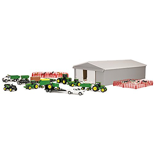 John Deere 70 Piece Value Set (John Deere Farm Scene)