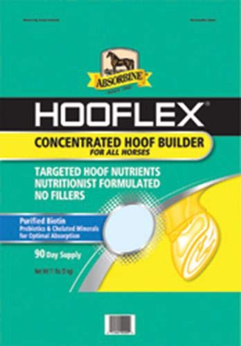 Absorbine 689778 Hooflex Concentrated Hoof Builder, 90 Day Supply by Absorbine