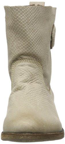 Blackstone Bootie High - Botas planas Mujer Beige (Beige (hazel))