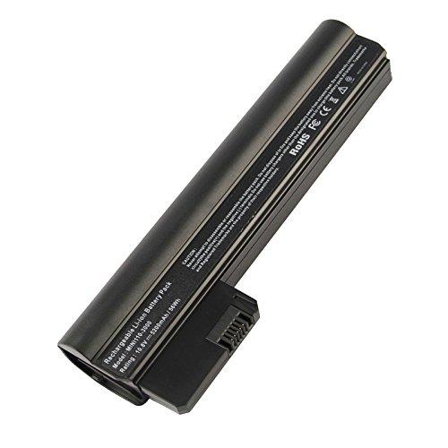 Futurebatt 6 Cell 5200mAh Battery for HP Mini 110-3000 110-3100 Series Compaq Mini CQ10-400 PC Series Notebook, 607762-001 607763-001 HSTNN-CB1U HSTNN-DB1U TY06 06TY