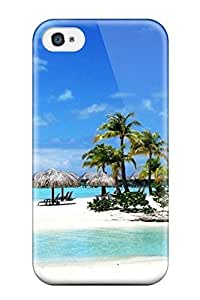4388262K13272129 Defender Case With Nice Appearance (bora Bora) For Iphone 4/4s