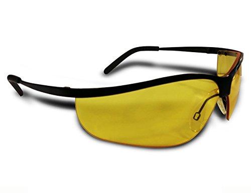 Shilba Shooter Gafas Protección de Caza, Unisex Adulto, Negro, S 152501