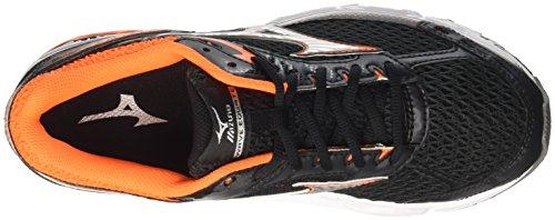 Mizuno Wave Equate - Zapatillas de running Hombre Multicolore (Black/Silver/Clownfish)