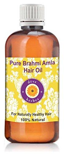 dève herbes Brahmi Amla Hair Oil 100ml (With Real Brahmi & Amla)