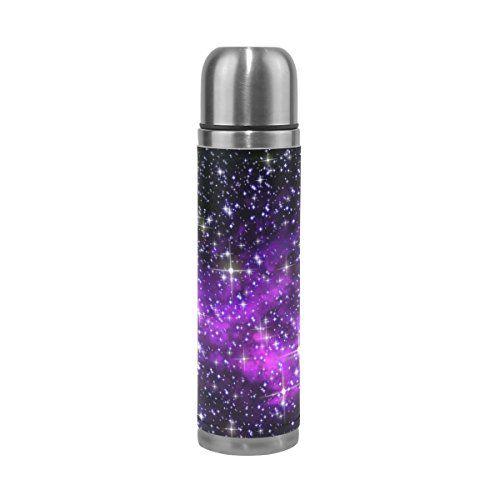 ALAZA Galaxy Stars Double Wall Vacuum Insulated Stainless St
