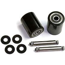 GPS Load Wheel Kit for Manual Pallet Jack - Fits Dayton Grainger, Model # 3KR84