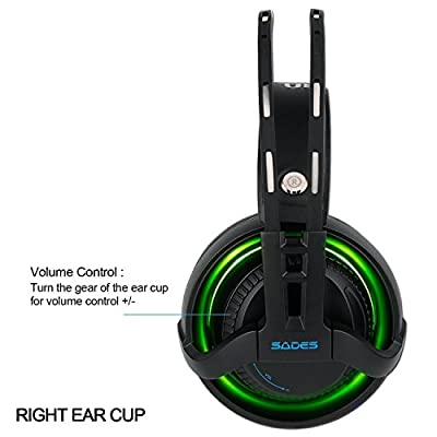 USB PC Gaming Headset 7.1 Stereo Headphones with Mic